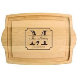 Farmhouse Carver Personalized Cutting Board