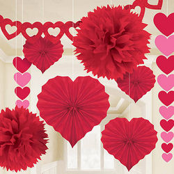 Valentine's Day Paper Decorating Kit