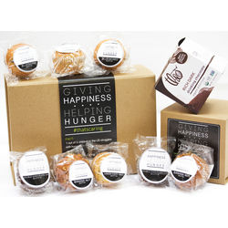 Homemade Muffins and Theo Hot Chocolate Gift Box