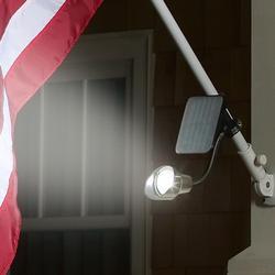 Solar-Powered Flag Light