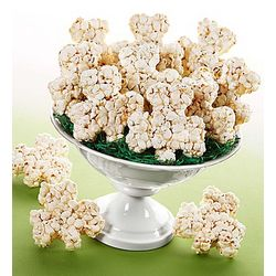 Shamrock Shaped Popcorn Balls