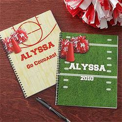 Cheer Personalized Notebooks