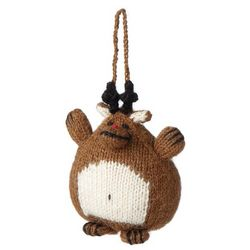 Reindeer Knit Ornament