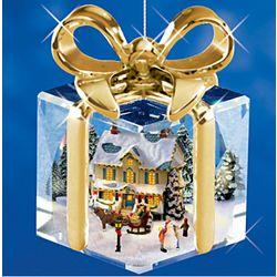 Thomas Kinkade I'll Be Home For Christmas Ornaments