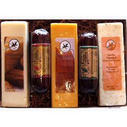 Wisconsin Cheese and Summer Sausage Gift Box