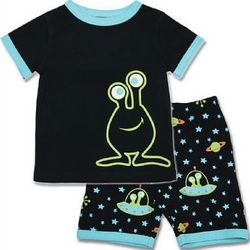 Glow in the Dark UFO Jammies