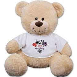 Personalized Wild About Teddy Bear