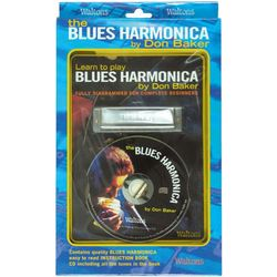 Learn to Play Blues Harmonica Book and CD
