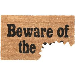 Beware of the Dog Bite Doormat