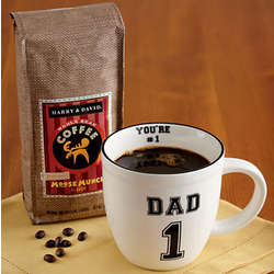 Dad's Mug with Whole Bean Coffee