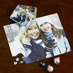 Personalized Giant 550 Piece Photo Puzzle with Gift Tin