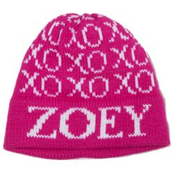 Child's XOXO Personalized Name Hat