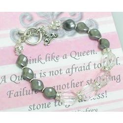 Think Like A Queen Bracelet