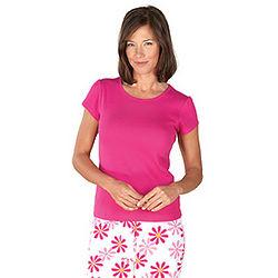 Fuchsia Daisy TJs for Women