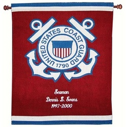 Coast Guard Tapestry Wall Hanging