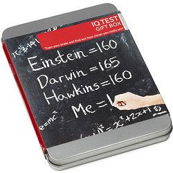 IQ Test Kit in a Tin