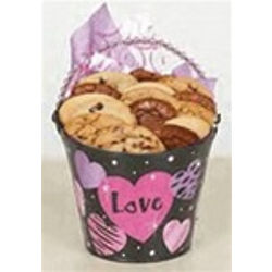 Valentine's Day Pail of Assorted Cookies