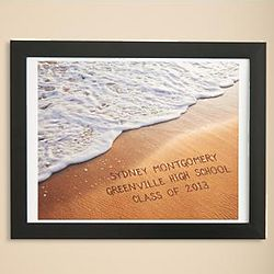 Personalized Graduate Sand Print