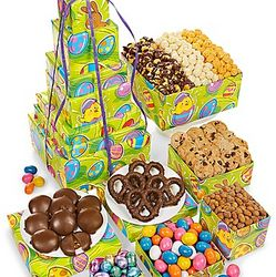 Egg-Ceptional 7-Tier Easter Treat Tower