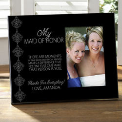 Wedding Party Personalized Photo Frame