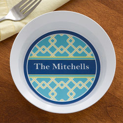 Nautical Link Personalized Melamine Bowl