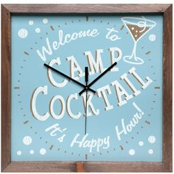 Welcome to Camp Cocktail Clock