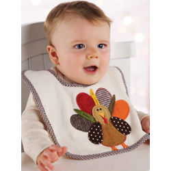 Turkey Baby Bib