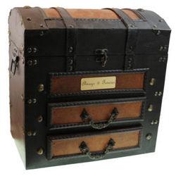 Personalized Fellow Traveler Valet Box