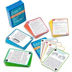 Don't Drown Out There! Marine Survival Deck of Cards