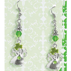 Irish Blessing Angel Earrings with Card Craft Kits