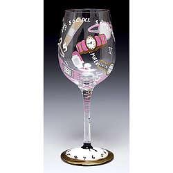 It's 5 O'Clock Somewhere Wine Glass