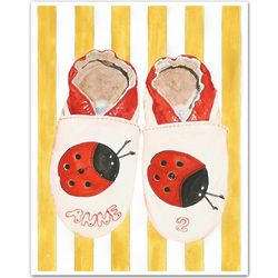 "Personalized ""Anne's Ladybugs"" Art Print"
