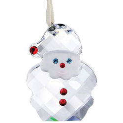 Swarovski Crystal Santa Claus Ornament