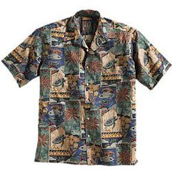 Cotton Aloha Travel Shirt