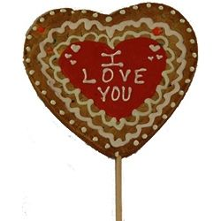 Personalized Giant Heart Valentine's Day Cookie Pop