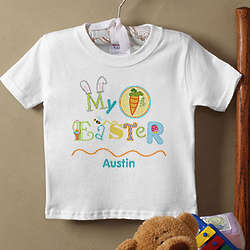 Personalized My First Easter T-Shirt