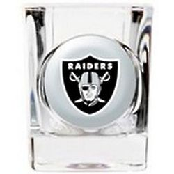 Personalized Oakland Raiders Shot Glass