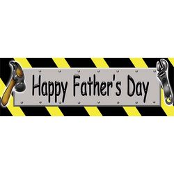 Let's Build It Father's Day Banner