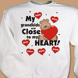 Close To My Heart Personalized Sweatshirt