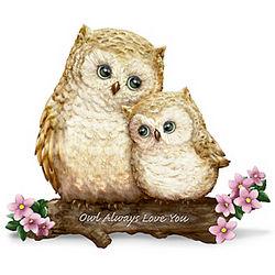 Owl Always Love You Owl Figurine