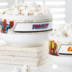 Marvel Comics Personalized Superhero Bowl