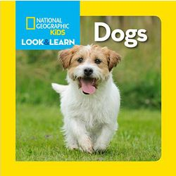 Kids Look and Learn About Dogs Book