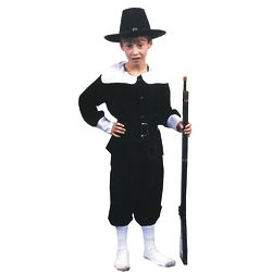 Boy's Pilgrim Costume