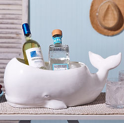 Beluga Whale Ceramic Holder