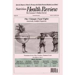 Nutrition Health Review Journal Subscription