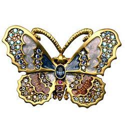 Flora Butterfly Pin