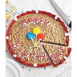 Giant Mrs. Fields Happy Birthday Cookie Cake