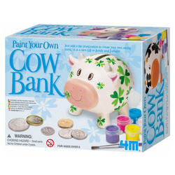 Paint a Cow Saving Bank