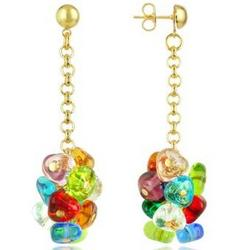 Rubik Murano Glass Drops Earrings