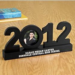 Personalized 2012 Graduation Frame Sculpture